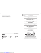 DENTSPLY BOBCAT Pro Directions For Use Manual