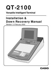 Casio QT-2100 Installation & Down Recovery Manual