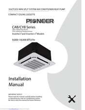 Pioneer CYB Series Installation Manual