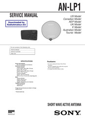 Sony AN-LP1 Service Manual