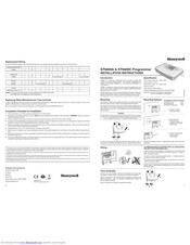 Honeywell ST9400A Installation Instructions