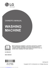 LG WDC1409HCW Owner's Manual