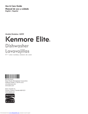 Kenmore 1469 Use & Care Manual