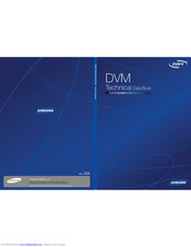 Samsung MIM-B16N Technical Data Book