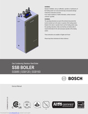 Bosch SSB85 Service Manual