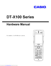Casio DT-X100-20E Hardware Manual