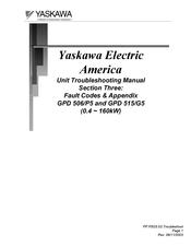 Yaskawa Gpd 506 P5 Manuals Manualslib