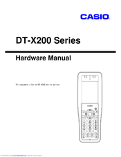 Casio DT-X200-10E Hardware Manual