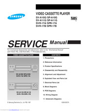 samsung SP-A10G Service Manual