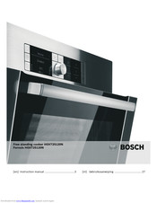 Bosch Fornuis HGV725120N Instruction Manual