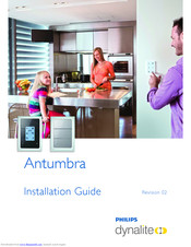 Philips Antumbra Installation Manual