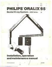 Philips 2611 Installation, Operation And Maintanance Manual