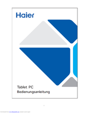 Haier PAD702 Manual