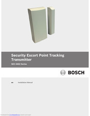 Bosch SEC-3402-304 Installation Manual