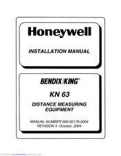 Honeywell Bendix/King KN 63 Installation Manual