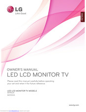 LG M2280A Owner's Manual