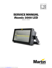 Martin Atomic 3000 LED Service Manual