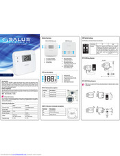 Salus RT310 Digital Thermostat remplace RT300