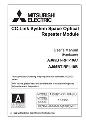 Mitsubishi Electric AJ65BT-RPI-10B User Manual