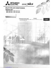 Mitsubishi Air Conditioning Instruction Manual