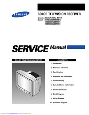 Samsung CW21M63NS8XXEC Service Manual