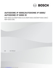 Bosch AUTODOME IP 4000i User Manual