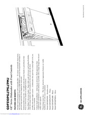 GE GDF510PSJSS Installation Instructions Manual