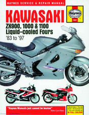 Kawasaki ZX1000 A Ninja 1000R 1985 Service And Repair Manual