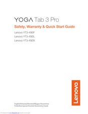 Lenovo Yoga Tab 3 Pro 10 Yt3 X90l Manuals Manualslib