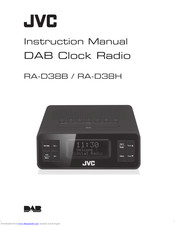 JVC RA-D38H Instruction Manual