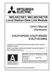 Mitsubishi Electric A1SJ71AT23BQ User Manual