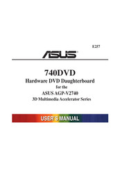 Asus 740DVD User Manual