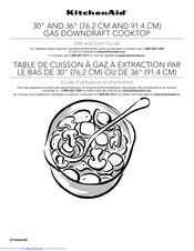 KitchenAid KCGD500GSS Use And Care Manual
