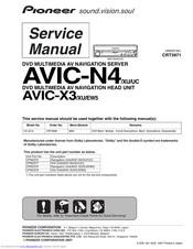 pioneer avic-n4/xu/uc manuals | manualslib  manualslib