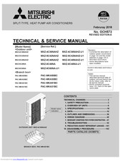 Mitsubishi Electric PAC-MKA51BC Technical & Service Manual