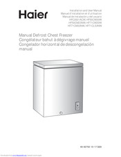 Haier HFC3501ACW Installation And User Manual