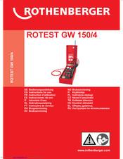 Verbindungsschlauch für Rotest GW 150//4