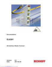 ; EtherCAT AS-Interface Master NEW BECKHOFF EL6201