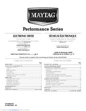 maytag medz600te epic z front load electric dryer manuals rh manualslib com maytag epic z dryer manual maytag epic dryer troubleshooting