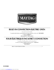 Maytag MEW7530WDB Use And Care Manual