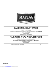 Maytag MGT8885XS Use & Care Manual