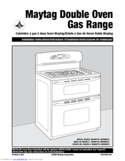maytag double oven range manual