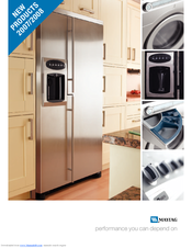 Maytag MAF9501AEW 60 Series Brochure