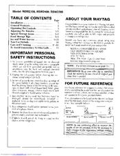 maytag rsw2400 manuals rh manualslib com Home Depot Maytag Side by Side Maytag Side by Side Parts