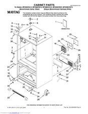 maytag mfi2569vem 25 0 cu ft refrigerator manuals rh manualslib com Maytag MFI2569VEM Main Control Board Maytag Manuals Refrigerator Model MFI2568AEW