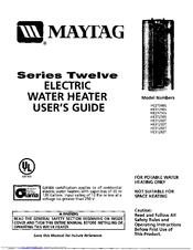 Maytag HE21250T User Manual