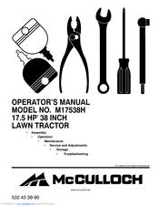 mcculloch m17538h operator s manual pdf download rh manualslib com