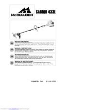 mcculloch cabrio 115249726 instruction manual pdf download rh manualslib com
