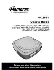 memorex portable cd boombox manual
