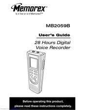 memorex mb2059b user manual pdf download